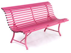 Sweet Pink, Garden Bench. My old one told me it wants to be that colour in its next life.