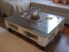 My DIY Pallet Coffee Table/ Itse tehty kuormalava-kahvipöytä olohuoneen piristykseksi