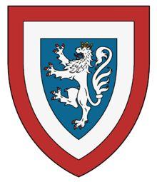 Hugh de Balliol Lordship of Galloway. He married Agnes de Valence. Family Crest, Picts, Coat Of Arms, Croatia, Celtic, Logos, Image, Badges, Crests