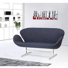 Modern Contemporary Sofa Black Aluminum -- Details can be found by clicking on the image. (This is an affiliate link and I receive a commission for the sales) #LuxurySleeperSofa