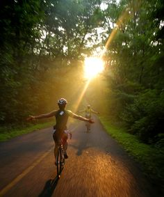 Riding Toward the Light | Fit Chick | Bicycling.com