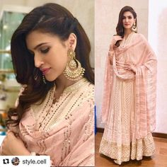 """115.3k Likes, 592 Comments - Kriti (@kritisanon) on Instagram: """"And Diwali celebrations begin!! ❤️ #LoveEthnic #Repost @style.cell with @repostapp ・・・…"""""""