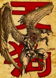 The TENGU (dead or alive) by ~VAXION on deviantART