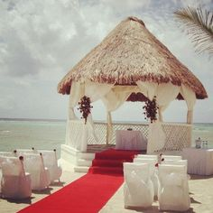 Red Beach Ceremony