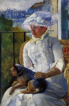 Mary Cassatt (American [Impressionism] Young Girl at a Window, ca. Oil on canvas, x cm. Corcoran Gallery of Art, Washington, DC. Art Paintings, Painting Prints, Painting & Drawing, National Gallery Of Art, Renoir, Mary Cassatt Art, Pittsburgh, American Impressionism, Edgar Degas