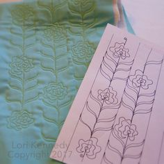 Carnations--A Machine Quilting Tutorial