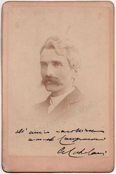 Catalani, Alfredo - Signed Cabinet Photo