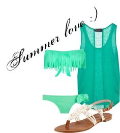 """summer love ;)"" by brandyayers on Polyvore"