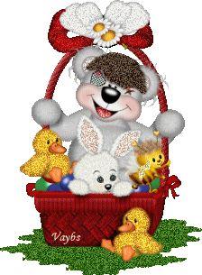 Animated Gif by Teddy Bear Cartoon, Cute Teddy Bears, Happy Birthday Png, Bear Gif, Easter Wallpaper, Teddy Bear Pictures, Bear Graphic, Easter Pictures, Glitter Graphics