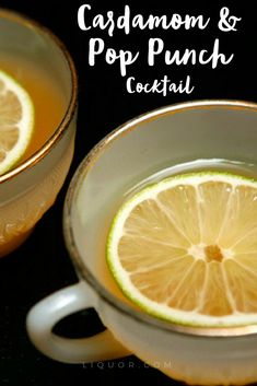 A cocktail with a complex flavor profile, the Cardamom & Pop Punch is a delicious drink made with rum, orange bitters, cardamom and fresh juices. Serve chilled in a punch glass. Pinkies up!   #cocktails #rum #delicious #summerdrinks