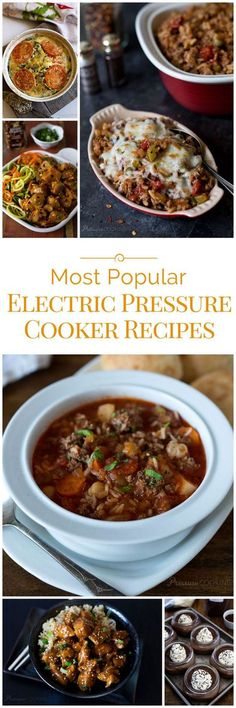 The Most Popular Electric Pressure Cooker Recipes of 2016 on Pressure Cooking Today. Which was your favorite?