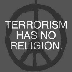 Stop terrorism bring peace