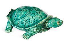 Decorative Ceramic Turtle