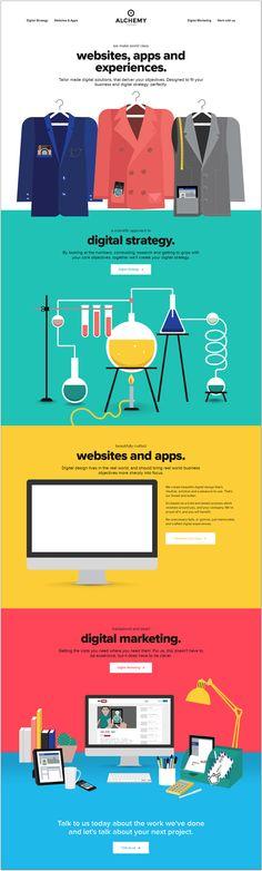 Daily Web Design and Development Inspirations No.401