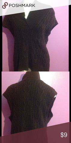 Chaps Brown Cableknit Sweater Chaps Brown Cableknit Sweater Chaps Sweaters