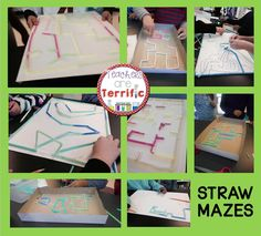 A STEM Quick Challenge! Students use two supplies and create a fun maze! Includes lab sheets or folding graphic organizer for use with Interactive Notebooks! #STEM #Engineering #teacherspayteachers