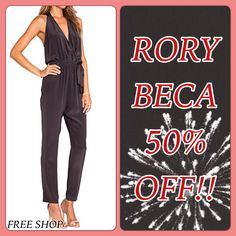 Madly in Love with this Gorgeous Jumpsuit from Rory Beca. Perfect for New Years Eve and 50% Off!! Free Shop Stone Harbor Open Everyday.