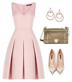 """""""Untitled #228"""" by birdie-hall on Polyvore featuring BCBGMAXAZRIA, Louis Vuitton and Christian Dior"""