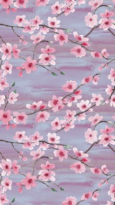 Ideas For Spring Wallpaper Iphone Pattern Cherry Blossoms Cherry Blossom Wallpaper Iphone, Floral Wallpaper Iphone, Cherry Blossom Background, Spring Wallpaper, Iphone Background Wallpaper, Aesthetic Iphone Wallpaper, Flower Wallpaper, Aesthetic Wallpapers, Watercolor Wallpaper Phone