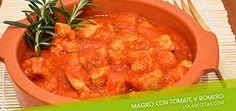 Receta: Cómo preparar Magro con tomate y romero