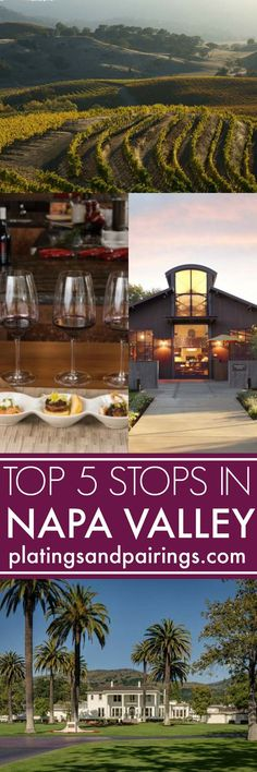 A Perfect Day in Napa Valley consists of fabulous wineries, amazing food & lovely scenery. Here's what to do to make every last second count when you travel to Napa Valley, California. | platingsandpairings.com
