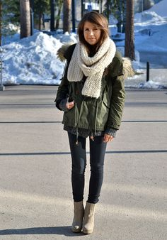 i want a parka for next winter!