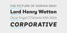 Corporative Sans - Webfont & Desktop font « MyFonts