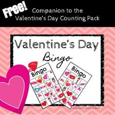 Have fun working on listening, following directions, and matching, with this FREE Valentine's Day BINGO game! Includes 6 game boards, calling cards and markers.This is the FREE companion product for the Valentine's Day Counting Pack.  By Supports for Special Students