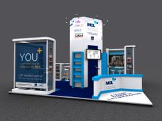 Exhibition Stand Design: Stand design created for MOL Training for their upcoming exhibition at the CIPD Learning and Development Show 2014 at Olympia London www.ddex.co.uk