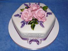 Marcipánový dort - narozeninový