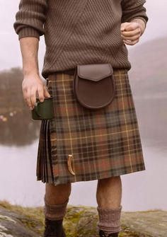 Part of our lifestyle collection, The Stewart Hunting Weathered Kilt featured in Kilt Society's 2017 campaign. Cut from pure wool, pleated to sett and finished with single fringing. A waistband finished with 100% cotton lining, fastened with three adjustable leather straps and belt loops to allow for additional accessories. A beautiful kilt, crafted to last a lifetime. High quality materials are combined with traditional tailoring techniques to create your bespoke kilt. Our Kilt Society…