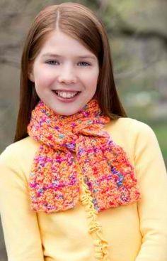 Funtastic Scarf: #knit #knitting #free #pattern #freepattern #freeknittingpattern #knittingpattern