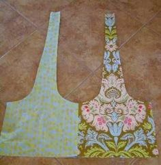 Patchy Boho Sling Bag Tutorial 3 (using fat quarters) > Destashification Project