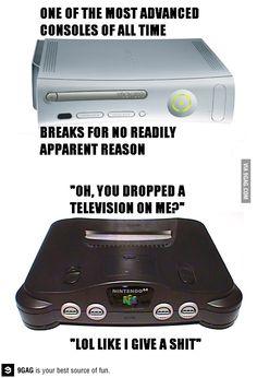 Xbox VS Nintendo64