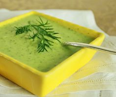 Fresh Dill Sauce - raw and fat free (well except for the coconut milk). Pour over hot steamed veggies for a lovely burst of flavor.