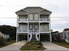 Vacation rental in Carolina Beach from VacationRentals.com! #vacation #rental #travel