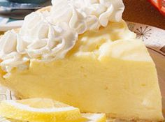 Recipe: Lemon Cream Cheese Pie