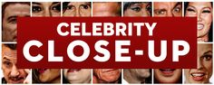Celebrity Close-Up: Ok, this site is oddly entertaining. It's just a bunch of super close up photos of celebrities. It kinda makes you feel better about yourself...ha! Enjoy. P.S. The amount of make up on some of these people blows my mind...YUCK! Yeah, I'm talking to you Katy Perry.