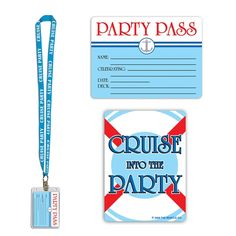 Cruise Ship Party Pass