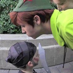 """When Peter Pan did a """"smell check"""" to see if a little boy was a pirate or a prince in disguise. 