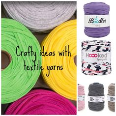 Knitting and crocheting with textile yarns | Dork Adore