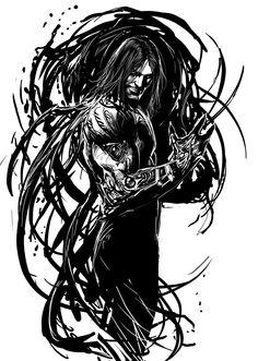 a wee bit of darkness by nebezial.deviantart.com on @deviantART