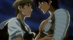 Escaflowne The Movie (Tsubasa No Kami) capture d'écran screenshot du blu-ray. Van et Hitomi  #Escaflowne