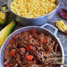 CHEN CHEN CON ROPA VIEJA Marzo 1, 2017 Ingredientes 1 Lb. de maíz craqueado 2 Tazas de leche de coco 2 Tazas de caldo de pollo ½ Barra de mantequilla ½ Cda. de anís (opcional) 2 Cdas. de aceite…