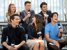 i would seriously marry any one of those boys. no joke. Teen Wolf Stydia, Teen Wolf Cast, Teen Wolf Poster, Victoria Moroles, Only Teen, Jill Wagner, Teen Wolf Funny, Teen Tv, Dylan Sprayberry