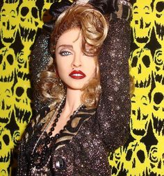 OOAK Madonna Barbie Doll Desperately Seeking Susan Repaint Reroot Retro 1 6 | eBay