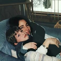 Charlie posted this beautiful picture of his and his lovely mother.