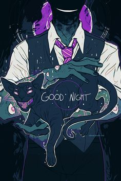 Good night by cloven.tumblr.com