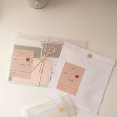 Clothing Packaging, Jewelry Packaging, Brand Packaging, Gift Packaging, Grand Art, Pen Pal Letters, Envelope Art, Pretty Packaging, Packaging Design Inspiration