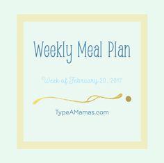 Weekly Meal Plan | c